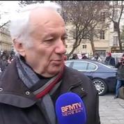 Funérailles de Jacques Chancel: Francis Huster et Jean-Marie Cavada lui rendent hommage