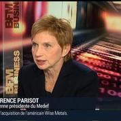 Laurence Parisot, ancienne présidente du Medef (1/3)