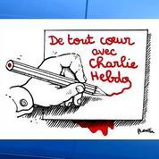 Charlie Hebdo: l'hommage des dessinateurs de presse
