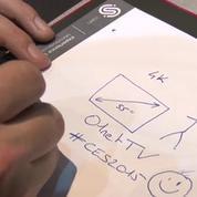 CES 2015 : la tablette graphique nouvelle génération (vidéo)