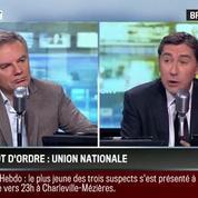 Brunet & Neumann : Charlie Hebdo: L'unité nationale est le mot d'ordre