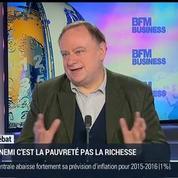 Jean-Marc Daniel: Lutte contre les inégalités: l'ennemi c'est la pauvreté pas la richesse
