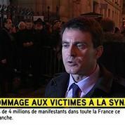Manuel Valls : «Je suis tellement fier des Français »