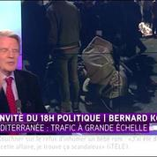 Bernard Kouchner sur les migrants méditerranéens