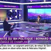 Bernard Kouchner à propos du refus d'inhumer un bébé Rom :