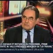 Jean-Pierre Crouzet, président de l'UPA (1/3)