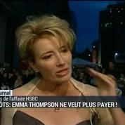 Affaire HSBC: Emma Thompson fait du chantage fiscal à Cameron