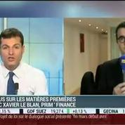 Focus sur le marché des matières premières: Xavier Le Blan –