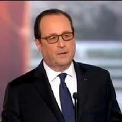«Il n'y a pas de montée inexorable du chômage» assure François Hollande