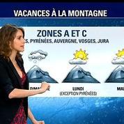 La météo des vacances à la montagne