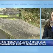 Tombes profanées à Sarre-Union: des jeunes plutôt discrets, selon les autres lycéens