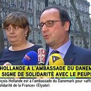 Copenhague : «Il y a une même détermination des terroristes à frapper ce que nous sommes», estime Hollande
