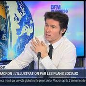 Guillaume Paul: Plans sociaux: La loi Macron veut faciliter les licenciements collectifs