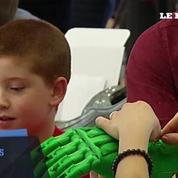 Des enfants handicapés fabriquent eux-mêmes leur prothèse