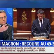 BFM Story: Édition spéciale Loi Macron (9/9): Le gouvernement a-t-il raison d'engager sa responsabilité ?