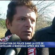 Le patron de la DDSP à Marseille: Le tir est allé apparemment dans notre direction