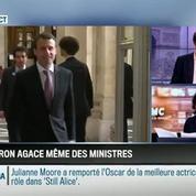 Le parti pris d'Apolline de Malherbe : Macron VS Le Foll: la guerre des chouchous –