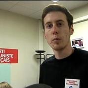 Lille: mécontent d'une affiche le fondateur d'Auchan débarque chez les Jeunes communistes