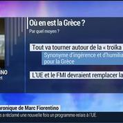 Marc Fiorentino: Economie: Où en est la Grèce? –