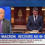 19H Ruth Elkrief: Édition spéciale Loi Macron (1/2): Je pense que nous aurions été majoritaires même sans recourir au 49.3: Jean-Marie Le Guen