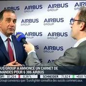 Airbus annonce ses résultats annuels: Marwan Lahoud –