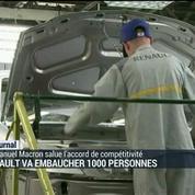 Renault va embaucher 1 000 personnes