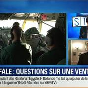BFM Story: Rafale à l'Égypte: C'est la vente à un dictateur
