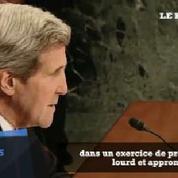 Ukraine : Kerry dénonce «l'exercice de propagande» de la Russie