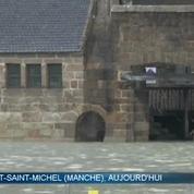 Grandes marées: des vagues énormes à Saint Malo