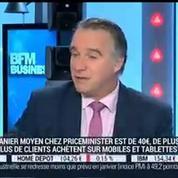 PriceMinister séduit de plus en plus d'acheteurs: Olivier Mathiot