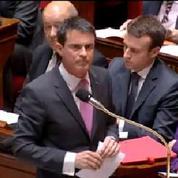 Valls s'énerve une nouvelle fois contre un député UMP qui demande la démission de Taubira