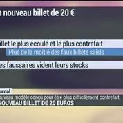 Le nouveau billet de 20 euros qui met fin aux faux