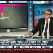Implanet lance une augmentation de capital: Ludovic Lastennet
