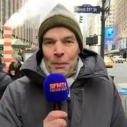 Températures polaires à New-York