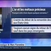 Marc Fiorentino: Métaux précieux: l'or continue de perdre du terrain –