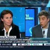 Les banques vont-elles se faire ubériser ?: Ryad Boulanouar, Philippe Herlin, Sophie Heller et Pascal Samama (1/2)