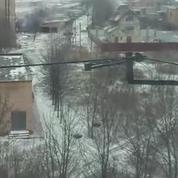 Ukraine : des images impressionantes des bombardements pro-russes