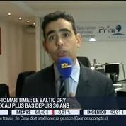 Trafic maritime: le Baltic Dry Index atteint son plus bas niveau depuis 30 ans: Benjamin Louvet