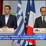 Alexis Tsipras à l'Elysée: La Grèce n'est pas une menace pour l'Europe