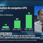 Waze: l'application qui inquiète la police américaine: Jean-Bernard Caddier