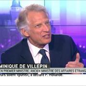Dominique de Villepin : « C'est la guerre qui nourrit le terrorisme »