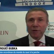 Athlétisme / Bubka : Le saut à 6m17 n'est pas passé loin