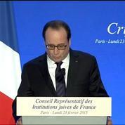 Dîner du Crif : François Hollande évoque les