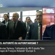Le parti pris d'Hervé Gattegno : Affaire du 49-3: Manuel Valls confond autorité et autoritarisme –
