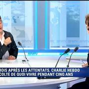 Attaques terroristes: On ne peut pas avoir peur. Si on a peur, ils ont gagné, dit Patrick Pelloux