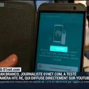 Le test du Lab 01net.com: la caméra Re de HTC