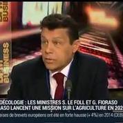 Xavier Beulin, président de la FNSEA (2/2)