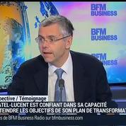 Alcatel-Lucent peut maintenant investir dans l'innovation et la croissance: Michel Combes