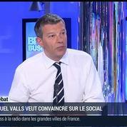 Nicolas Doze: Manuel Valls reprend en main la réforme du dialogue social –