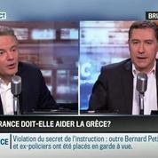 Brunet & Neumann : La France doit-elle aider la Grèce à alléger sa dette? –